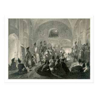 Persian Mosque at Yerevan, Armenia, a Night During Postcard