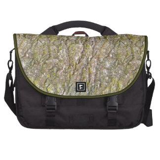Persian Oak Bark with Lichen Laptop Commuter Bag
