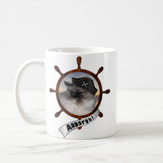 Persian pirate kitty coffee mug