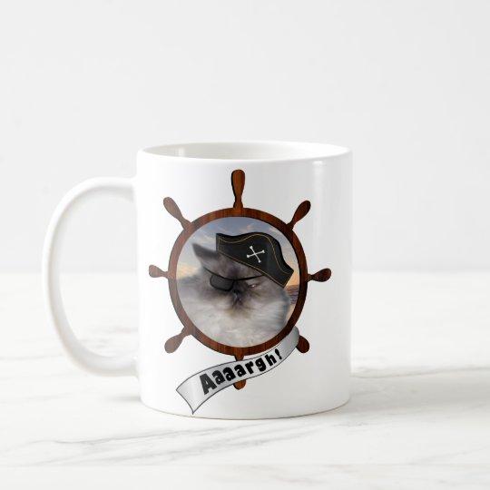 Persian pirate kitty coffee mug