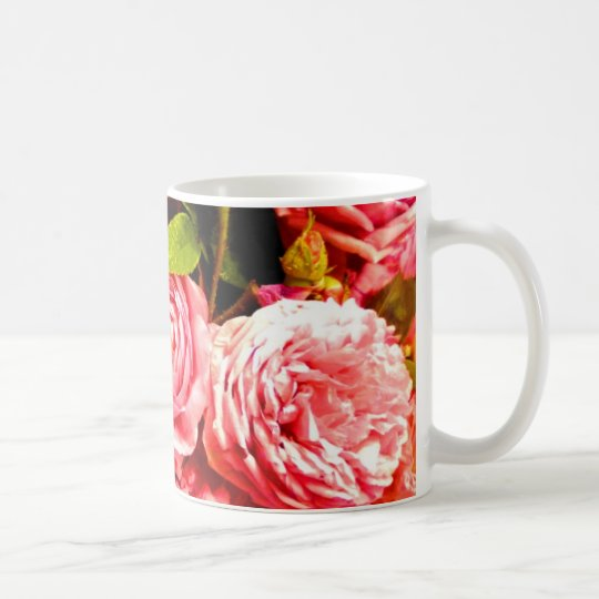 persian roses 2 coffee mug