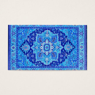 PERSIAN RUG - Blue Business Card