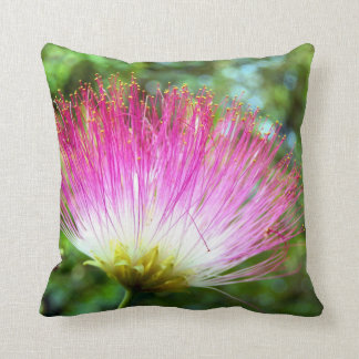Persian Silk Tree Flower Throw Cushion