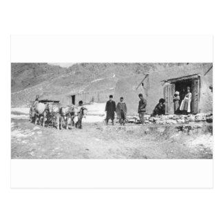 Persian Tea House in Eastern Iran, ca. 1914 Postcard