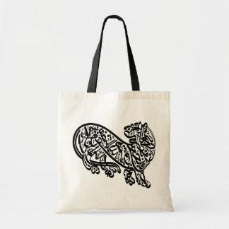 PERSIAN TIGER TOTE BAGS