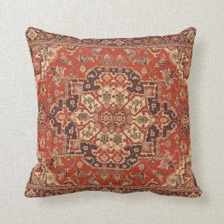 Persian Vintage Rug Floral Fine Art Cushion