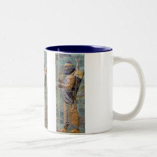 Persian Warrior Two-Tone Mug