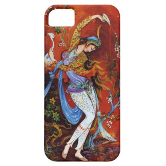 Persian Woman Dancing with Bird & Wine Case For The iPhone 5