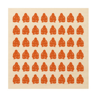 Persimmon Asian Moods Buddah Boys Wood Wall Decor