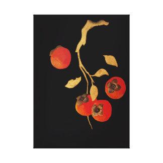 Persimmon Canvas Print