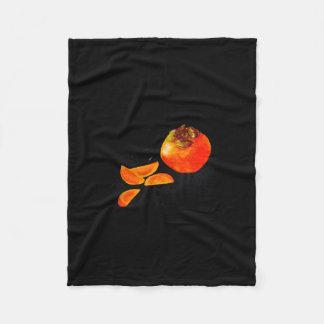 Persimmon Fleece Blanket