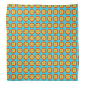 persimmon pattern bandannas