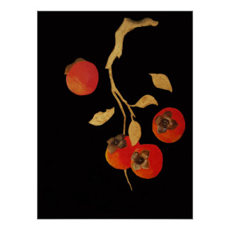 Persimmon Poster