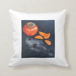 Persimmon Throw Pillow