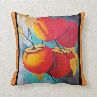 Persimmons at Dawn Cushion