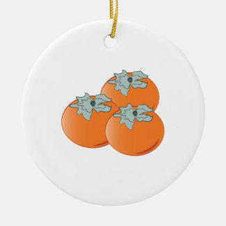 Persimmons Christmas Ornament