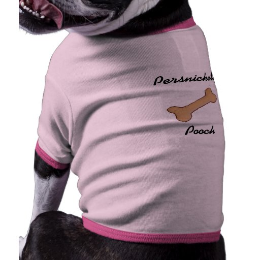 Persnickety Pooch Pet Tee Shirt
