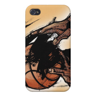 Person holding basketball iPhone 4 cases