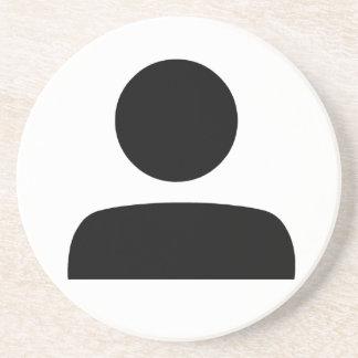 Person Symbol Coaster
