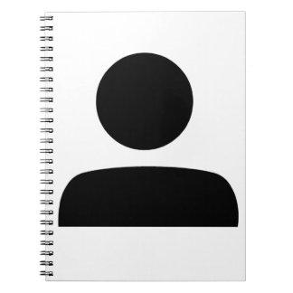 Person Symbol Notebook