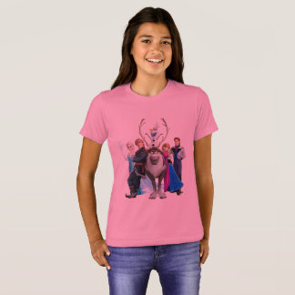 Personaggi di frozen T-Shirt