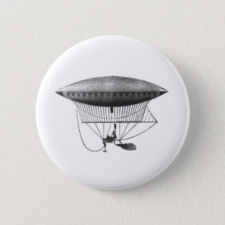 Personal Airship 6 Cm Round Badge