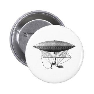 Personal Airship 6 Cm Round Badge