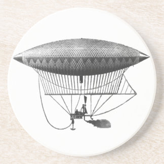 Personal Airship Drink Coaster