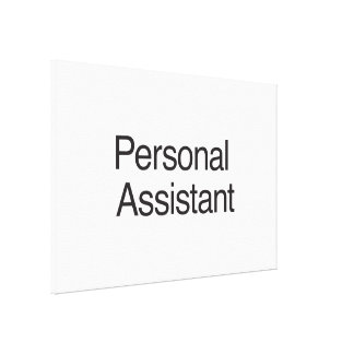 Personal Assistant ai Stretched Canvas Prints