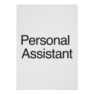 Personal Assistant ai Posters