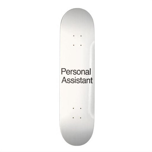 Personal Assistant.ai Skateboard Deck