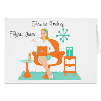 Personal Assistant Greeting Card