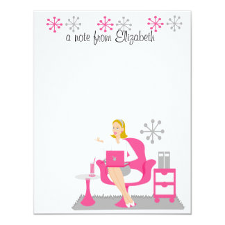 Personal Assistant 11 Cm X 14 Cm Invitation Card
