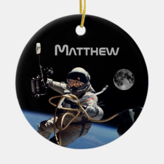 Personal Astronaut Space Walk Christmas Ornament