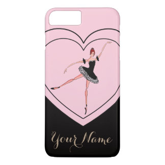 PERSONAL BALLET PHONE CASE, ELEGANT BALLERINA iPhone 8 PLUS/7 PLUS CASE