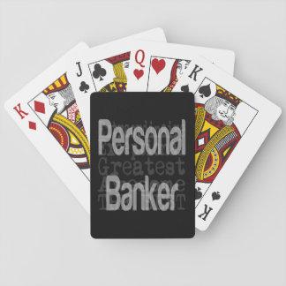 Personal Banker Extraordinaire Poker Deck