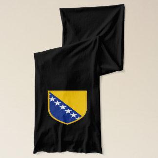 Personal Bosnia Flag Scarf
