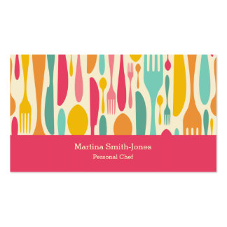 Personal Chef Business Card Templates