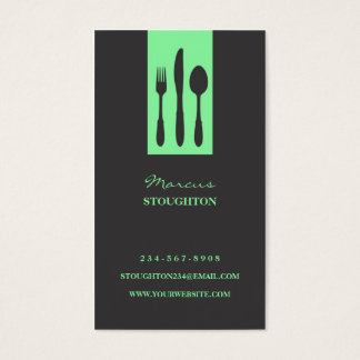 Personal Chef Business Card