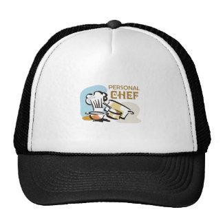 PERSONAL CHEF TRUCKER HAT