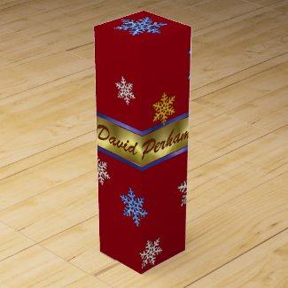 PERSONAL CHRISTMAS WINE GIFT BOX
