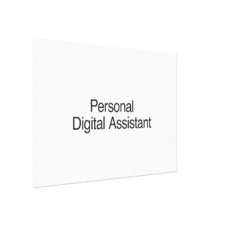 Personal Digital Assistant Stretched Canvas Prints