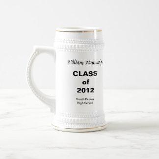 Personal Gift Graduation Stein Mugs