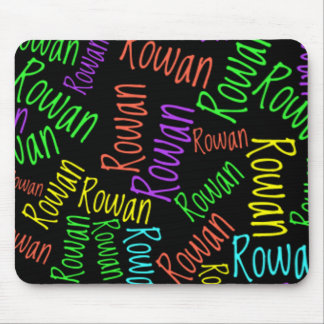 Personal gift Sample mousepad in Neon Lights