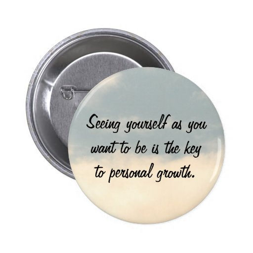 Personal Growth 6 Cm Round Badge
