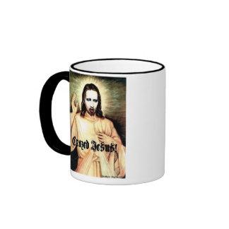 Personal Jesus Ringer Mug