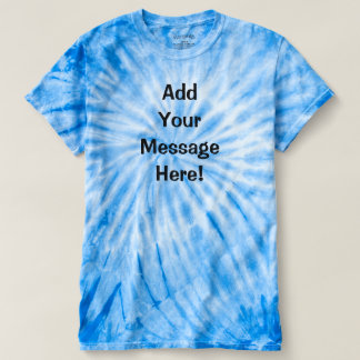 Personal Message T-shirt - Add images and text!