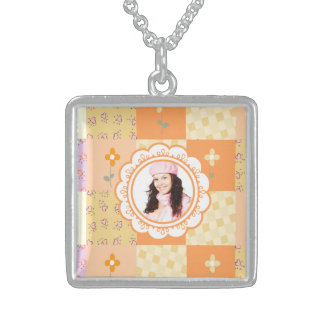 Personal Photo Square Necklace
