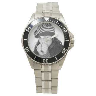 Personal Photo Template Wrist Watch