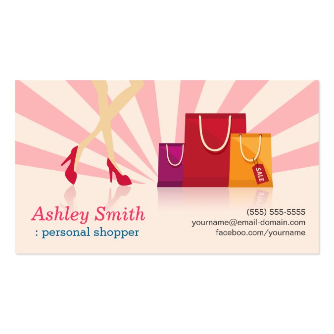 Personal shopper business cards - Home personal shopper ...